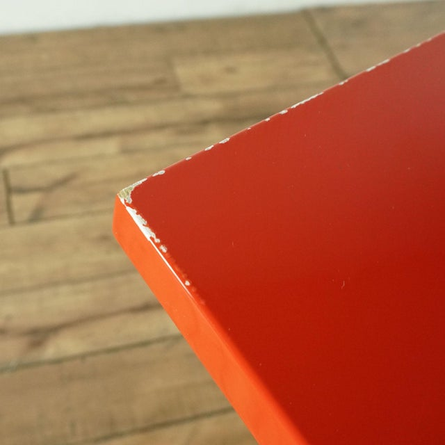 2010s Contemporary Blu Dot Red Computer Desk For Sale - Image 5 of 10