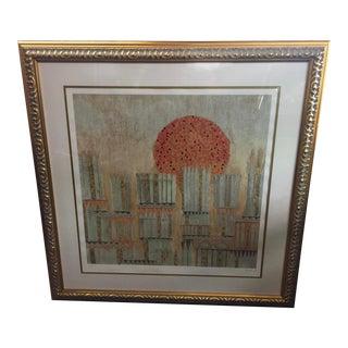 "Giovanni Franko Serigraph ""The Sun in the City"" Serigraph Signed Lmt Ed For Sale"