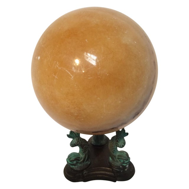 Calcite Crystal Ball - Image 1 of 10