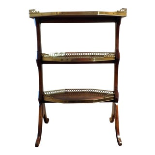 Theodore Alexander 3 Tier Sometime Table For Sale