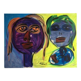 Abstract Painting by Peter Keil For Sale