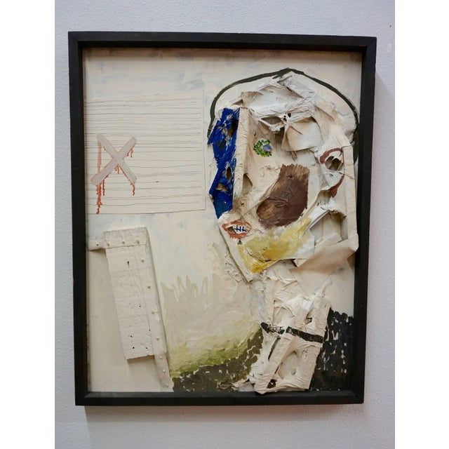 Mixed-Media Collage by Sheldon Kirby For Sale In Palm Springs - Image 6 of 7