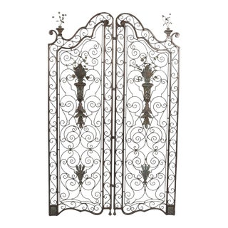 Early 20th Century French Garden Gates - a Pair For Sale