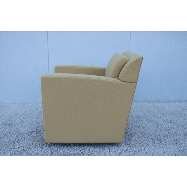 Wood Modern Brian Cox for Bernhardt Design Entrada Lounge Chair For Sale - Image 7 of 13