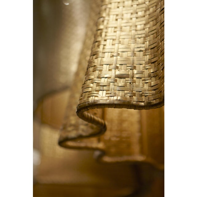 Selamat Designs Seline Metallic Drapery Pendant Light - Image 2 of 2
