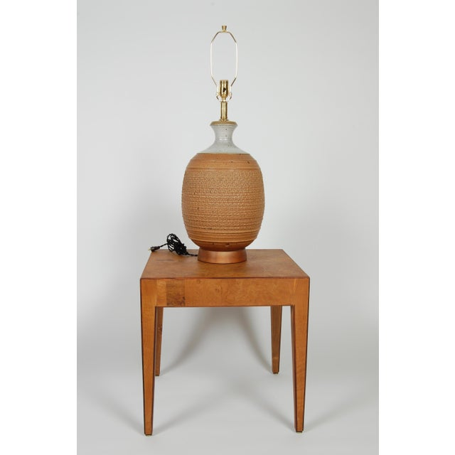 Studio Ceramic Lamp by Phil Barkdoll - Image 3 of 8