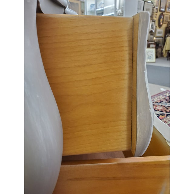 Union National Painted Nightstand For Sale - Image 10 of 13