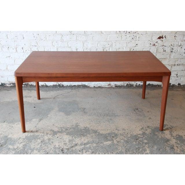 Henning Kjaernulf for Vejle Stole Danish Modern Teak Extension Dining Table - Image 5 of 10