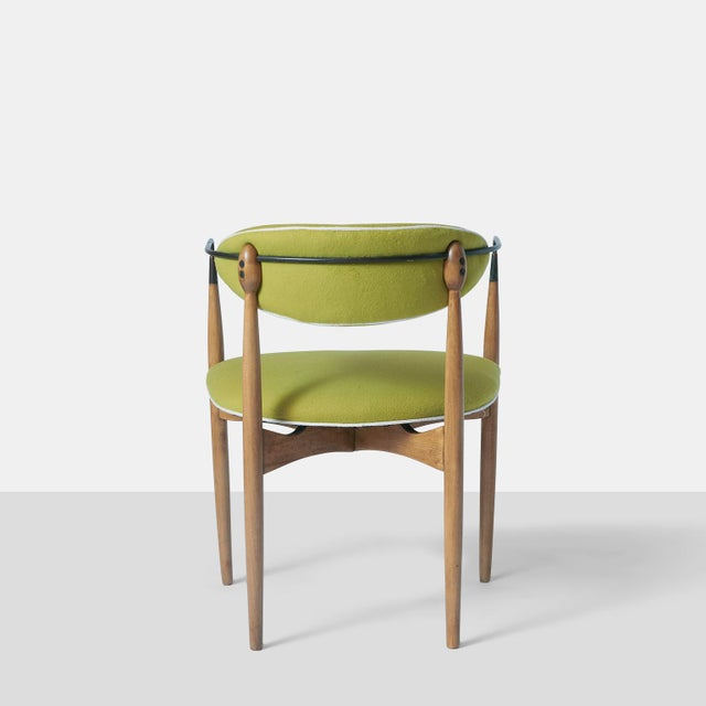 Dan Johnson Set of Six Viscount Chairs For Sale In San Francisco - Image 6 of 8