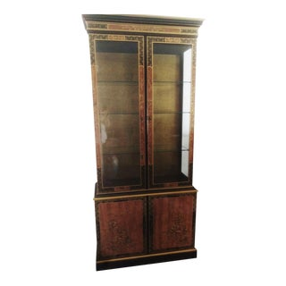 Vintage Chinese Curio Cabinet From Drexel Heritage Furnishings For Sale