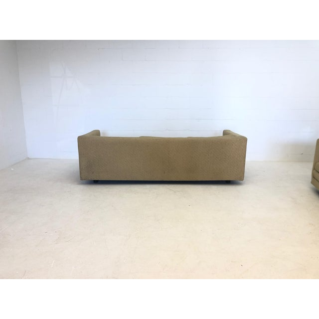 1960s Mid Century Harvey Probber Floating 3 Cushion Sofa For Sale - Image 5 of 7