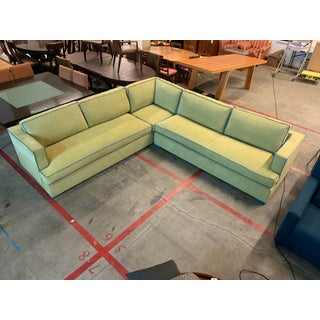 Custom Two Piece Sectional From Upholstery Workroom Preview
