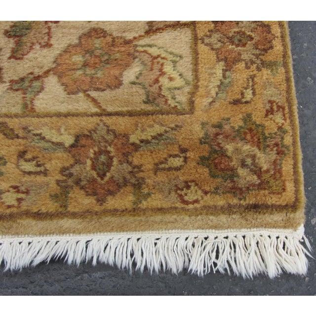 "Oriental Hand Woven Wool Runner - 2'6"" x 7'11"" - Image 9 of 11"