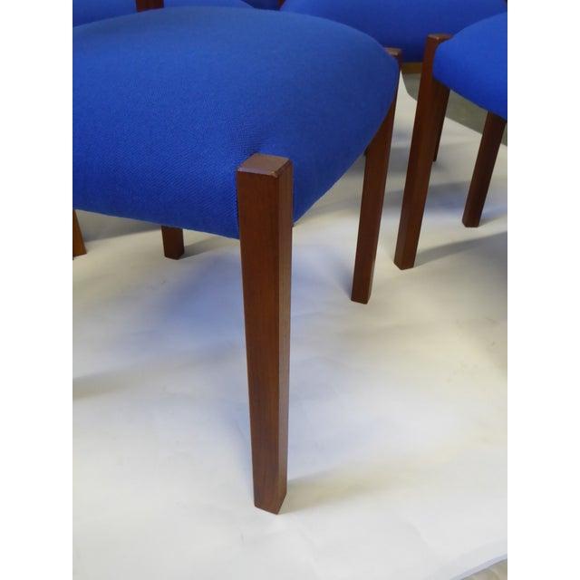 Eight 1974 Jørgen Henrik Moller Modern Teak Dining Chairs - Image 9 of 11