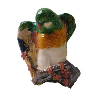 Colorful Parrot Wall Hanging Vase For Sale