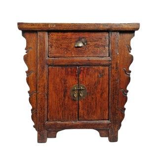 Tall Ming Vintage Side Cabinet For Sale