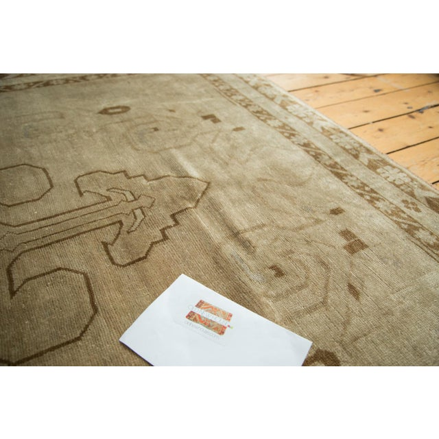 "Vintage Oushak Carpet - 5'8"" X 8'3"" - Image 10 of 10"