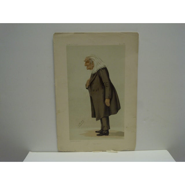 "This is a Vintage -- Vanity Fair Print -- Titled ""The Abbe"" -- Dated May 15, 1886 -- The Print Is In Nice Condition And Is..."