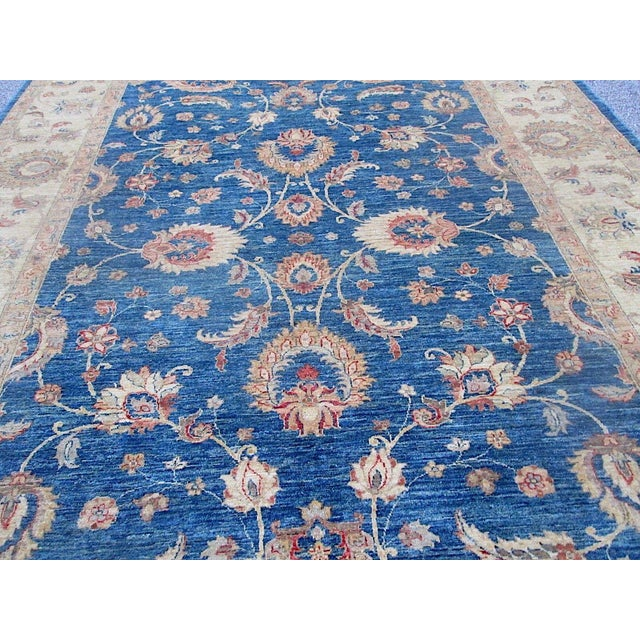 Oushak Design Hand Woven Oriental Rug - 8' X 11' - Image 3 of 11