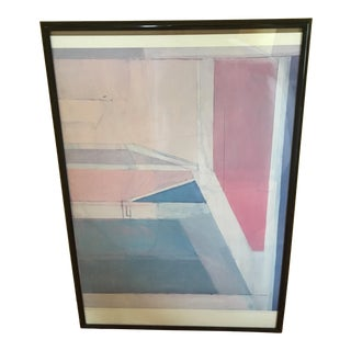 Brooklyn Museum Poster, R. Diebenkorn, Ocean Park #27, 1970 For Sale