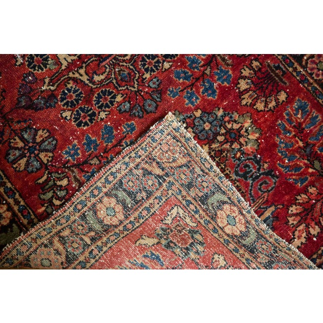 "Vintage Lilihan Rug - 2'8"" X 4'5"" For Sale - Image 10 of 12"