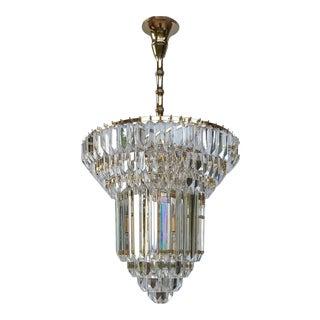 Venini Mid-Century Modernist Murano Glass Chandelier For Sale