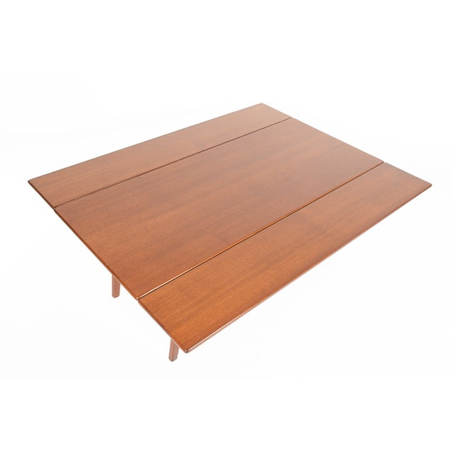 Danish Modern Coffee or Dining Elevation Table - Image 3 of 9