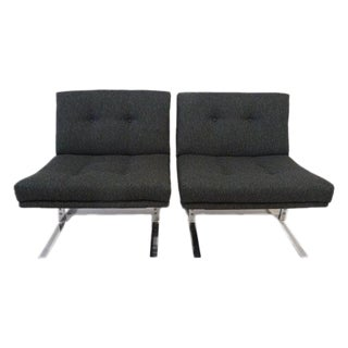 Mid Century Modern Chairs - A Pair For Sale