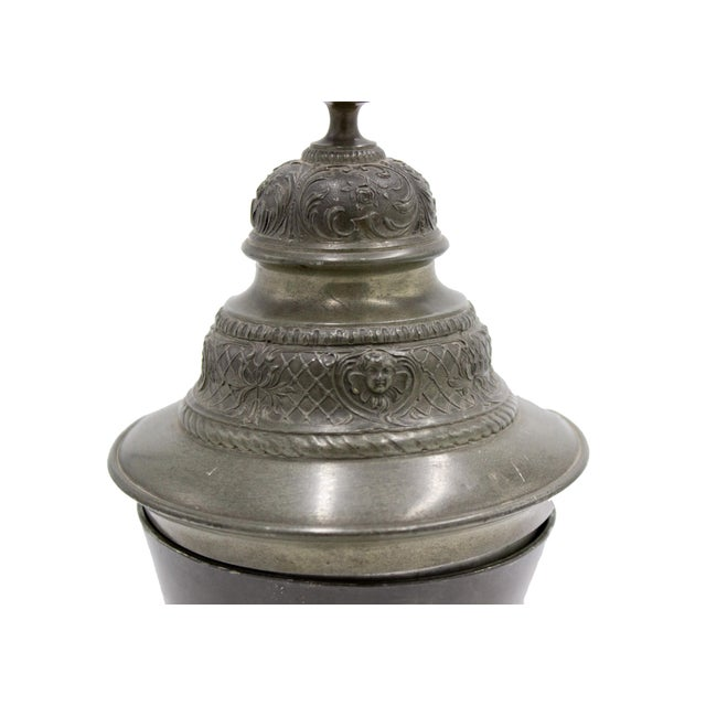 Renaissance English Renaissance Style Pewter Chalice For Sale - Image 3 of 7