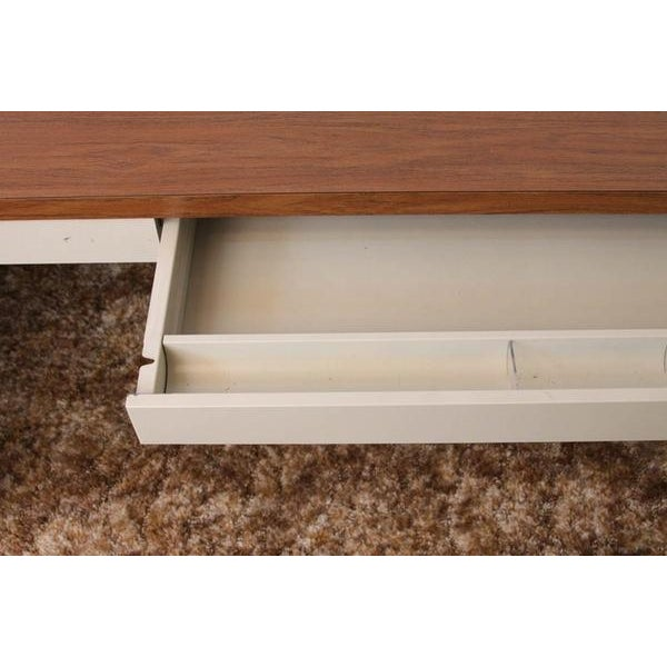 Mid Century Metal and Laminate Desk - Image 3 of 4