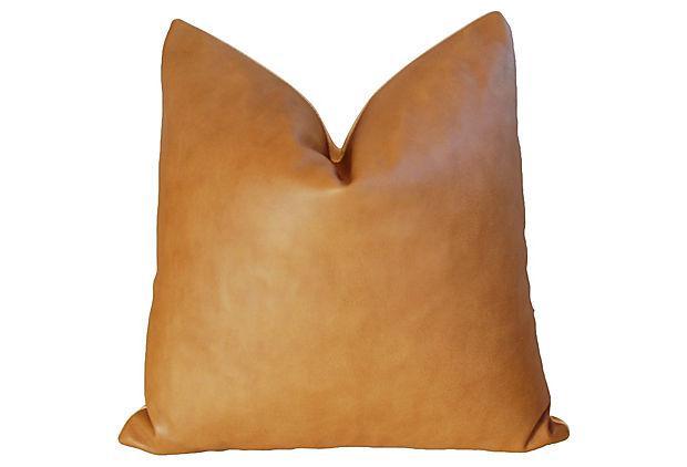 20 Quot Custom Tailored Italian Brown Leather Velvet Feather