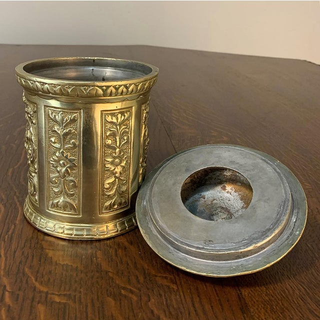 Metal 19th Century Bronze French Humidor For Sale - Image 7 of 13