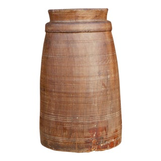 Tall Tribal Ghee Pot For Sale