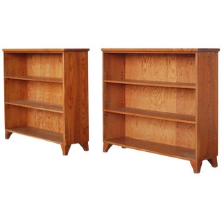 Bookcases by Axel Einar Hjorth For Sale