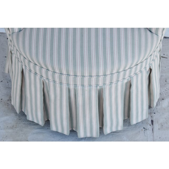 Vintage Scalamandre Upholstered Vanity Accent Side Chair For Sale - Image 9 of 12