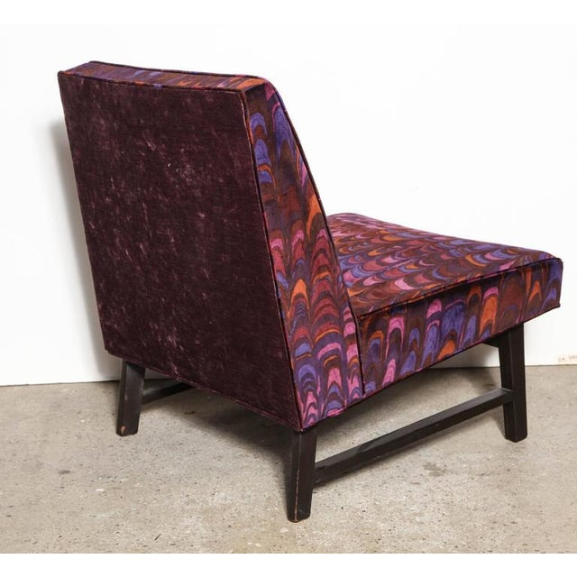1950s Vintage Edward Wormley for Dunbar Lounge Chair For Sale - Image 6 of 8