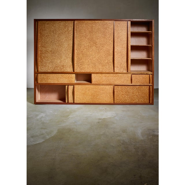 1950s Rare and Complete Charlotte Perriand & Jean Prouve Cupboard From Le Mans For Sale - Image 5 of 7