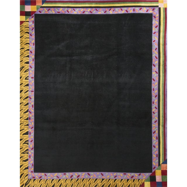 Modern Hand Knotted Wool Rug - 8' × 10' - Image 1 of 5
