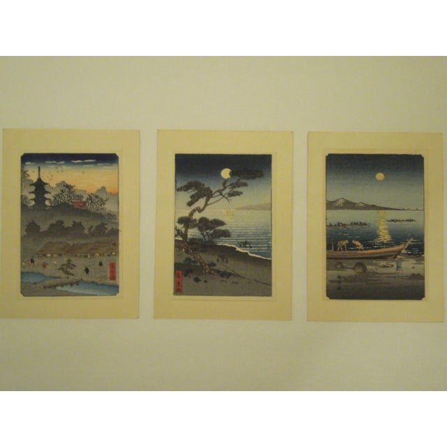 Japanese Block Prints - Set of 3 - Image 9 of 9