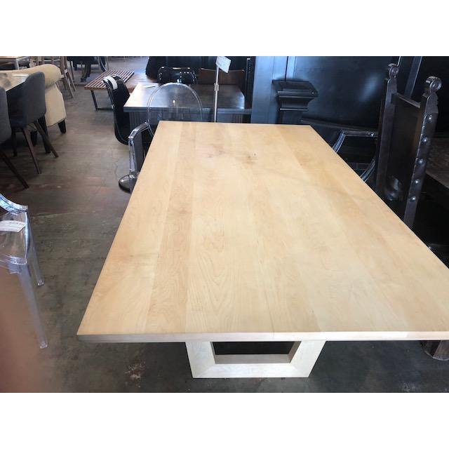 Contemporary SohoConcept Malibu Oak Dining Table For Sale - Image 3 of 6