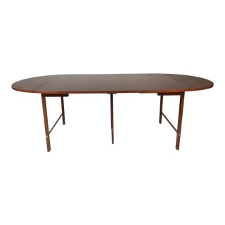 Mid-Century Modern Expandable Drop-Leaf Dining Table by Paul McCobb For Sale