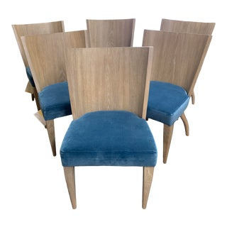 New Bernhardt Rowe Dining Chairs, Set of Six For Sale