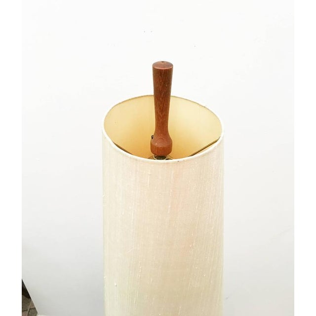 Mid-Century Danish Teak Floor Lamp For Sale - Image 4 of 7
