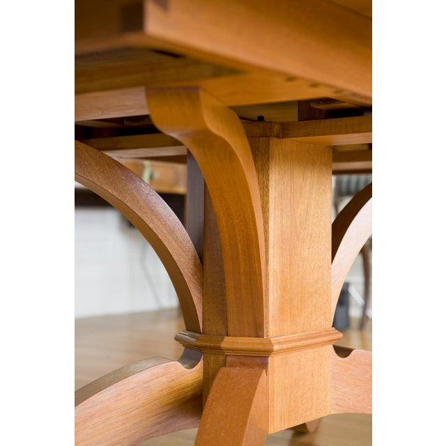 9-Piece Holly Hunt-Style Dining Set - Image 5 of 11