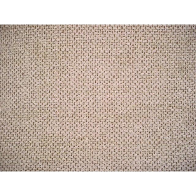 2020s Schumacher Mafalda Chamois Beige Plush Chenille Upholstery Fabric- 3 Yards For Sale - Image 5 of 5