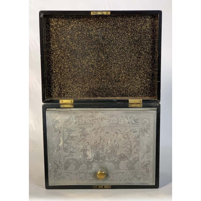 Chinese Export Cigar Humidor For Sale - Image 10 of 13
