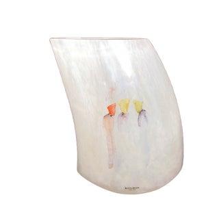 "Art Glass Vase From Kosta Boda's ""Catwalk 3 Ladies"" Series"