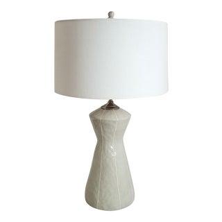 Handmade Modern Gray Table Lamp by kRI kRI Studio For Sale