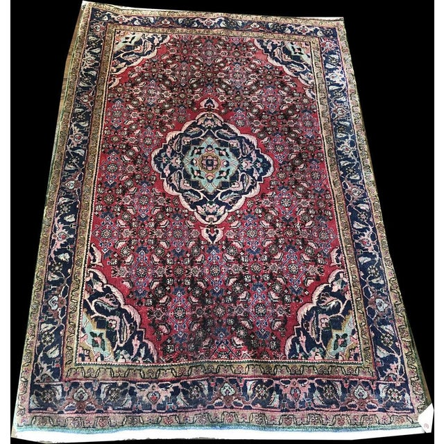 "This is a Tekab quality Bidjar, which is the top quality Bidjar. Bidjar rugs have the nickname of 'Iron rugs"" because the..."