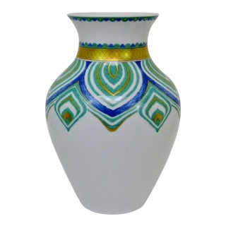 Bavarian Porcelain Vase For Sale